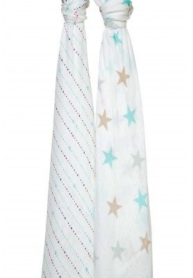 Shoot for the stars - Silky soft swaddles