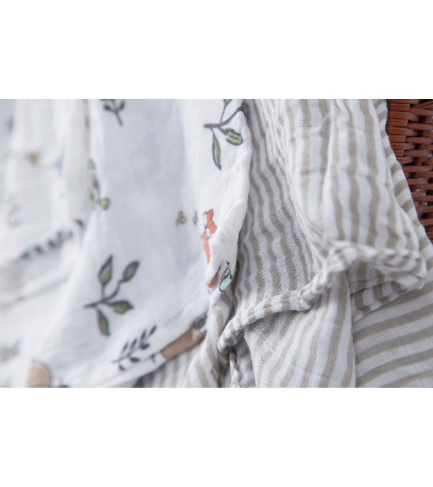 Into The Woods- Silky soft swaddles